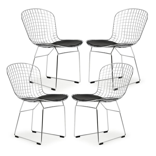 Makris Upholstered Dining Chair (Set of 4) by Ivy Bronx