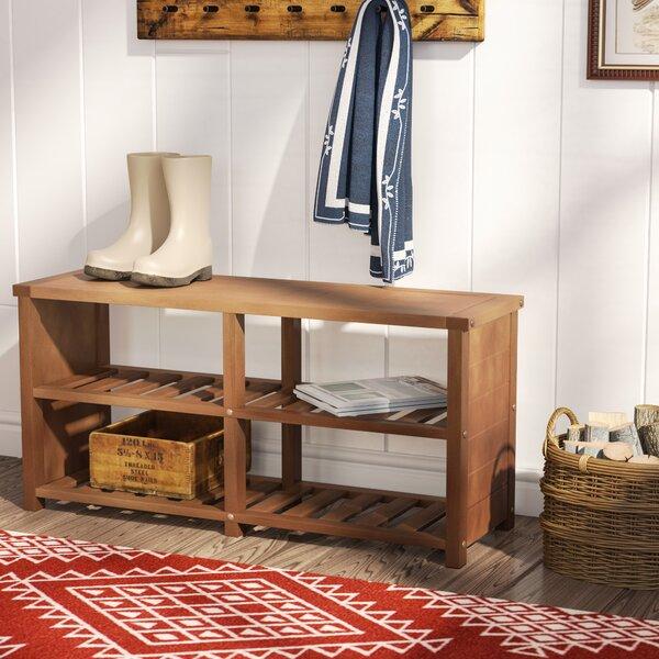 Wood Storage Bench by Trent Austin Design