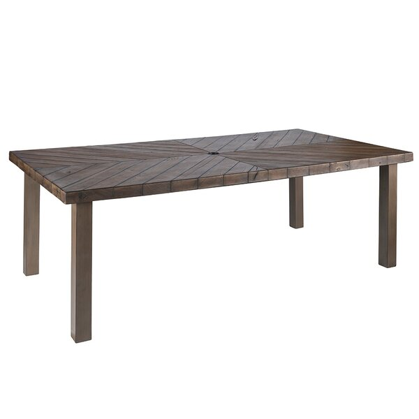Eibhlin Rectangular Dining Table by Bayou Breeze