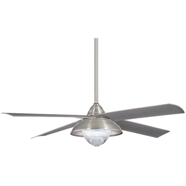 56 Shade 4 Blade Outdoor LED Ceiling Fan by Minka Aire