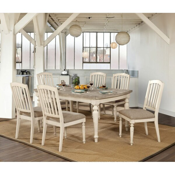 Flaming 7 Piece Dining Set by One Allium Way