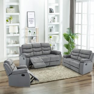3 Pieces Living Room Sets Couch Set Home Theater Seating by Red Barrel Studio®