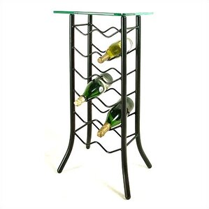 12 Bottle Floor Wine Rack by Grace Collection