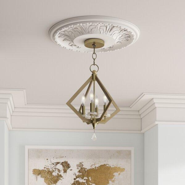 Balham 4 - Light Unique / Statement Geometric Chandelier By Willa Arlo Interiors