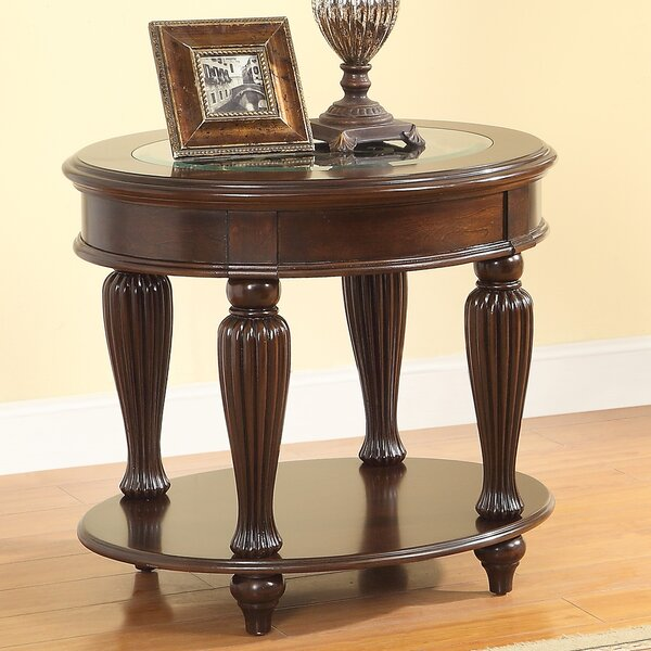 Rhuddlan End Table by Astoria Grand