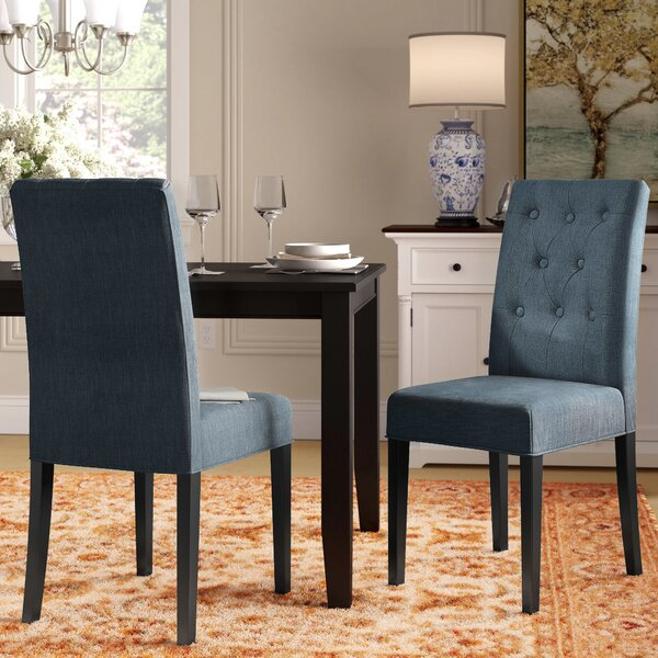Androscogin Side Upholstered Dining Chair by Charlton Home