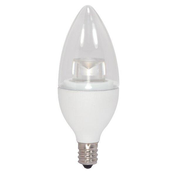 5W E12/Candelabra LED Light Bulb by Satco