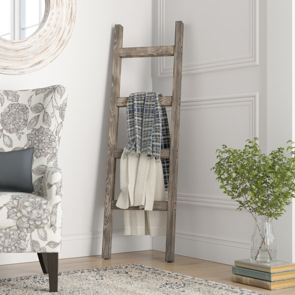 Handmade 5 ft Decorative Ladder by Gracie Oaks