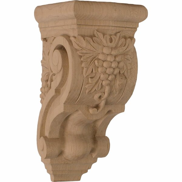 Grape Bunches 7 7/8H x 3 1/2W x 4 3/8D Corbel by Ekena Millwork