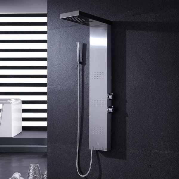 Thermostatic Rain Shower Panel by Luxier
