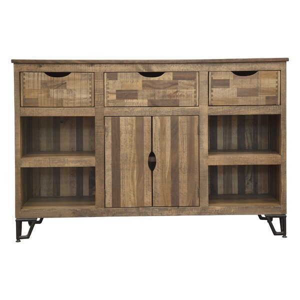 Monahan Solid Wood TV Stand For TVs Up To 65