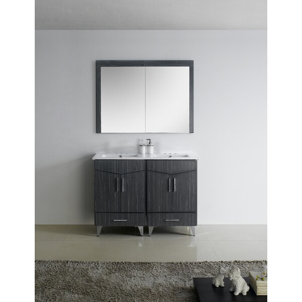 Keels 48 Double Bathroom Vanity by Orren Ellis
