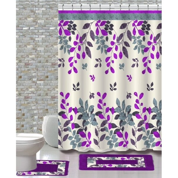 15 Piece Shower Curtain Set by Daniels Bath
