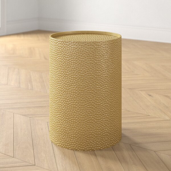 Tracey Drum End Table By Foundstone