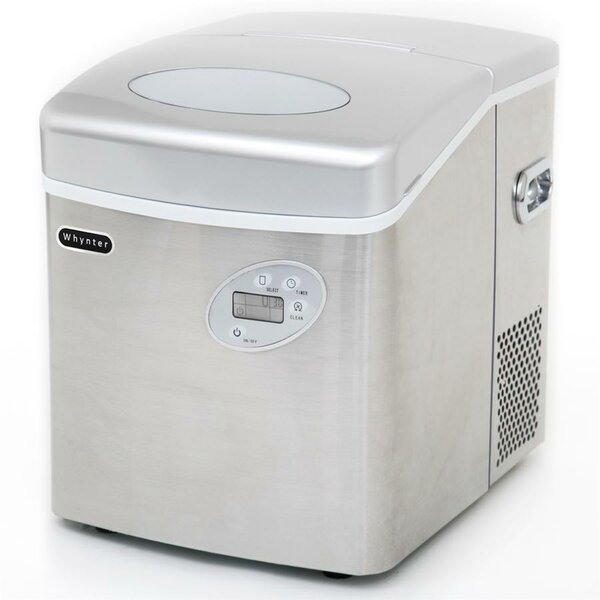 49 lb. Daily Production Portable Ice Maker by Whynter