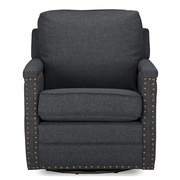 Alberto Swivel Armchair by Latitude Run