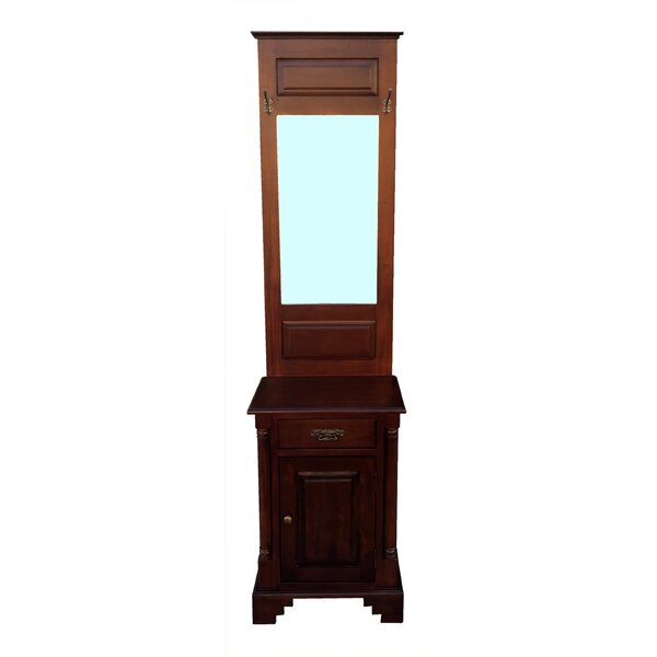 Hamstead Hall Stand 1 Door Accent Cabinet by D-Art Collection