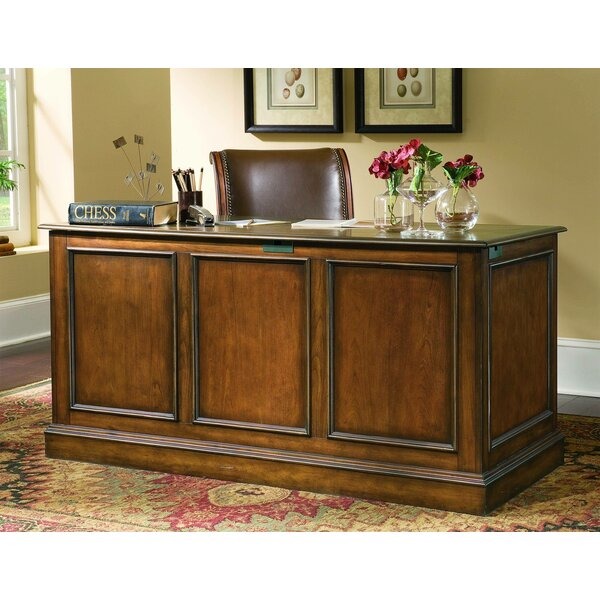 Brookhaven Drawer Executive Desk by Hooker Furniture