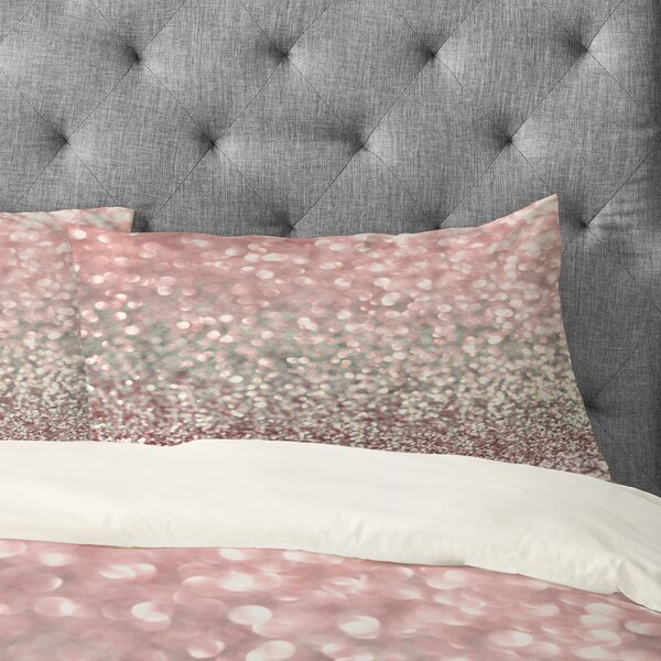 Girly Snowfall Pillowcase by East Urban Home