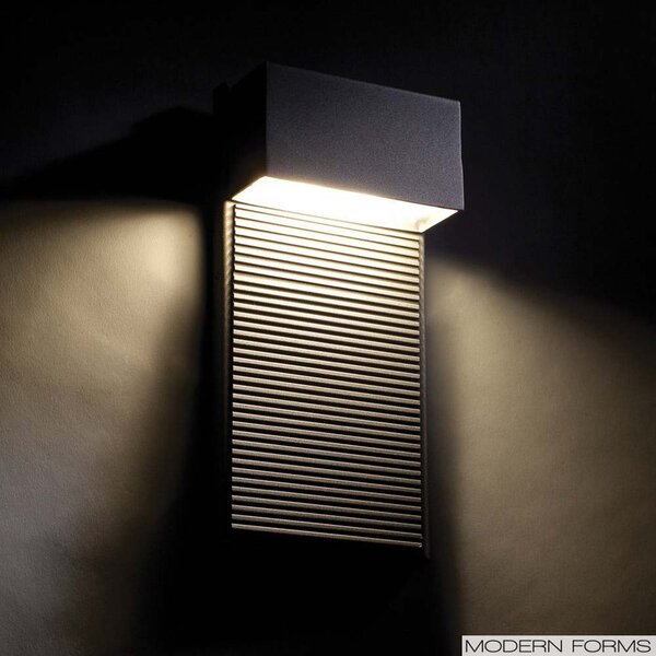 Hiline 2-Light Outdoor Sconce by Modern Forms