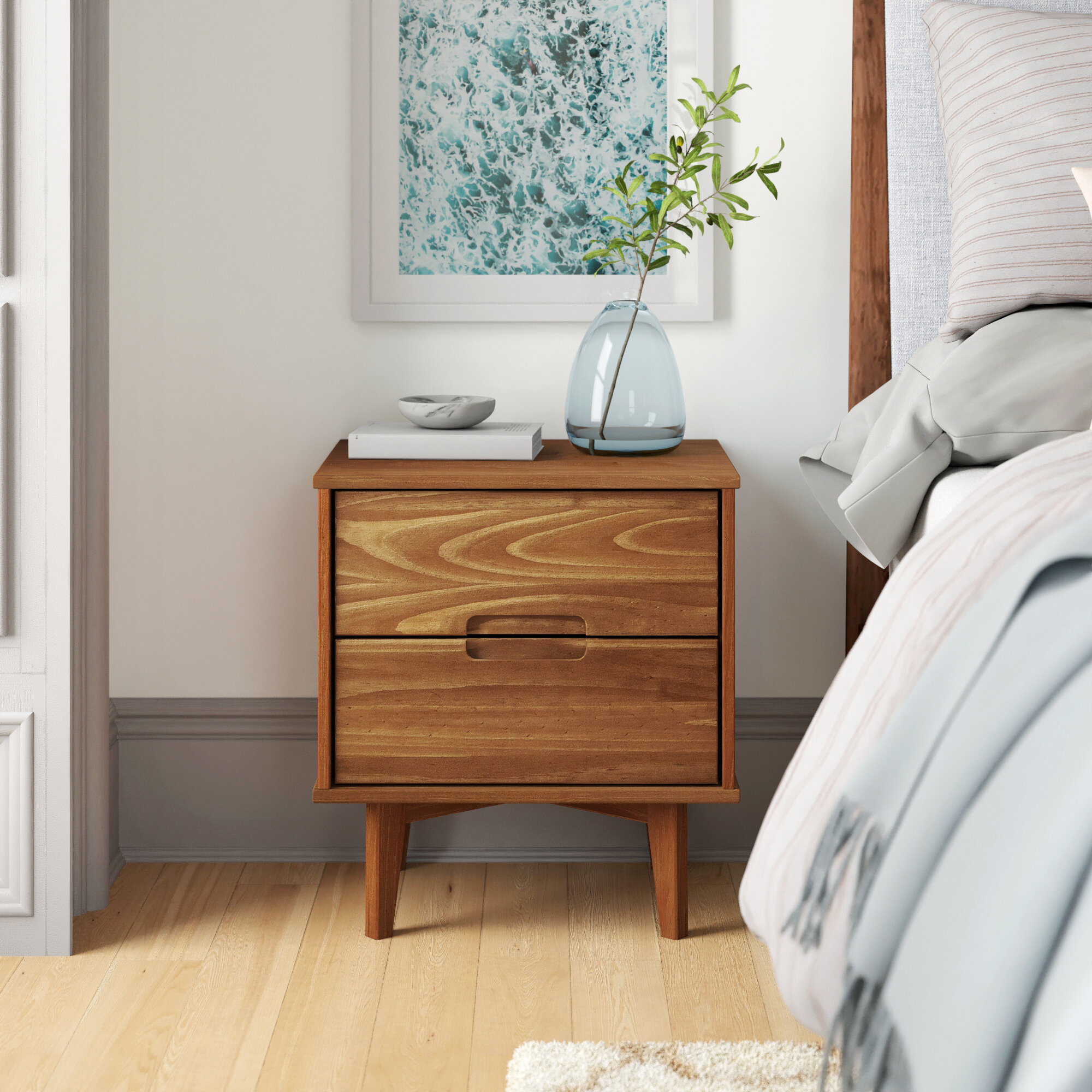 Isabelle 2 Drawer Nightstand Reviews Allmodern