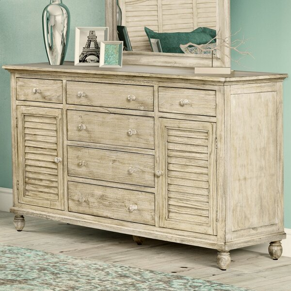 Haylee 6 Drawer Combo Dresser by Rosecliff Heights