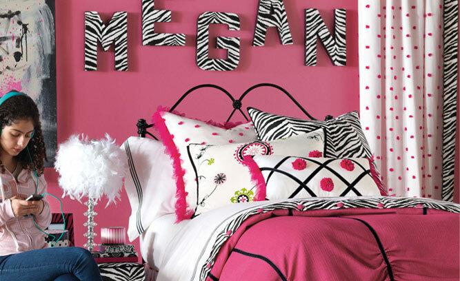 Hot Pink Teen Bedroom Decor   Wayfair