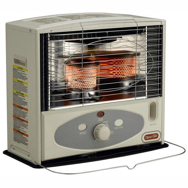 10,000 BTU Kerosene Radiant Utility Heater With Electronic Ignition By Dyna-Glo
