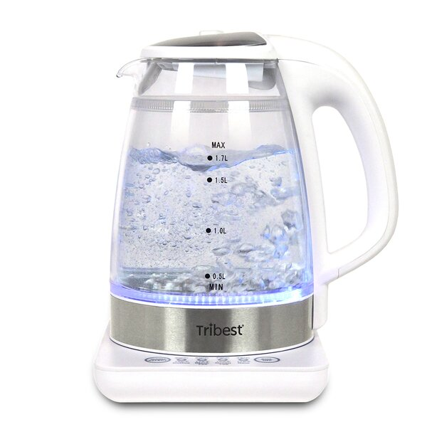 1.7 Qt. Raw Brewing Glass Electric Tea Kettle by Tribest