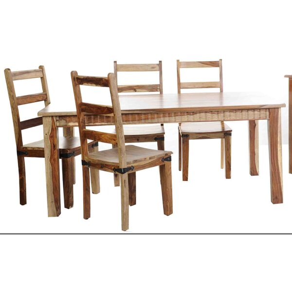 Sahara Solid Wood Dining Table by Aishni Home Furnishings