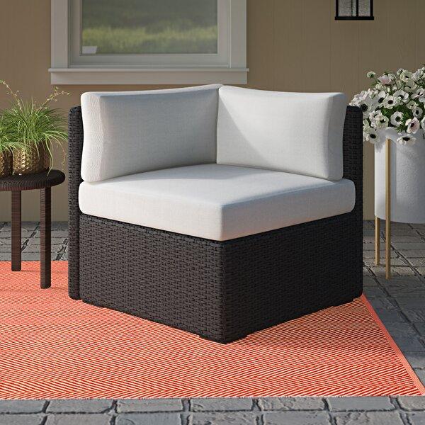 Vanbuskirk Corner Chair Sectional with Cushions by Brayden Studio