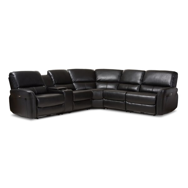 Polett Power Reclining Sectional with USB Ports by Latitude Run