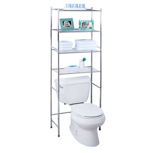 Deals 24.02 W x 67.72 H Over the Toilet Storage By Honey Can Do