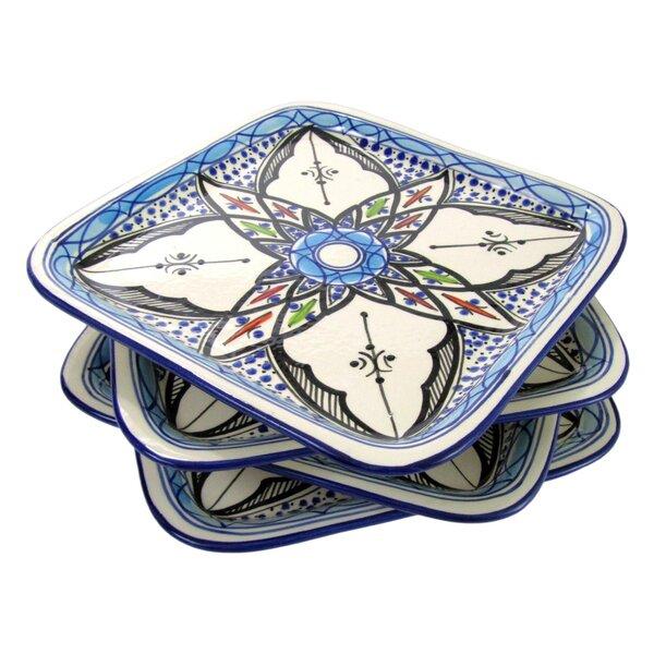 Tibarine 9.2 Stoneware Plate (Set of 4) by Le Souk Ceramique