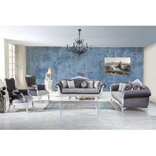Brodnax 4 Piece Sleeper Living Room Set by Rosdorf Park