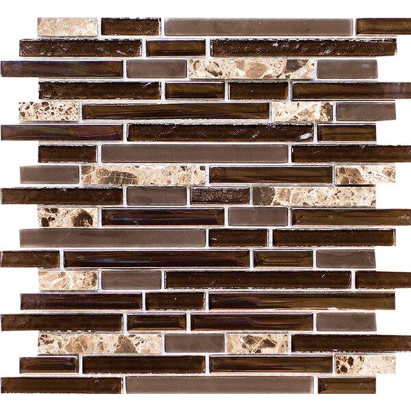 Jack Blend Ledger Random Sized Mosaic Tile by Parvatile