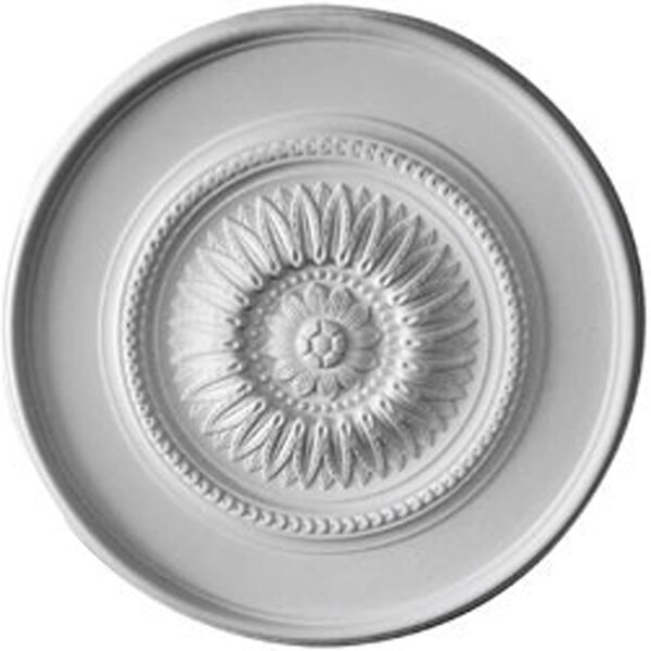 Floral 41 1/8H x 41 1/8W x 2 1/2D Ceiling Medallion by Ekena Millwork
