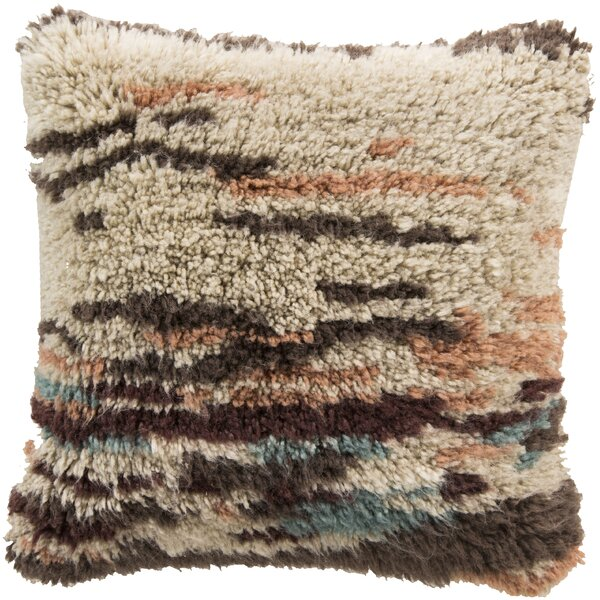 Avillion Delight Wool Throw Pillow by Bungalow Rose
