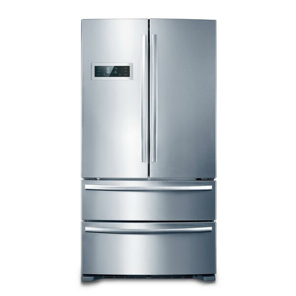 20.8 cu.ft. Counter Depth 4-Door Counter-Depth French Door Refrigerator by Hallman Industries