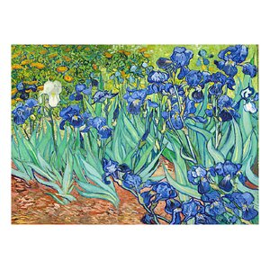 Irises by Claude Monet Painting Print by Prestige Art Studios