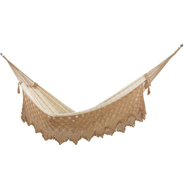 Clitheroe Solitary Pleasure Cotton Classic Hammock by Bungalow Rose