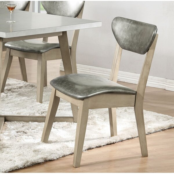 Minerva Upholstered Dining Chair (Set of 2) by 17 Stories