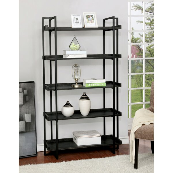 Gilroy Standard Bookcase by 17 Stories 17 Stories
