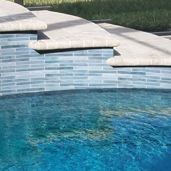 Brick 0.5 x 4 Glass Brick Joint Mosaic Wall & Floor Tile