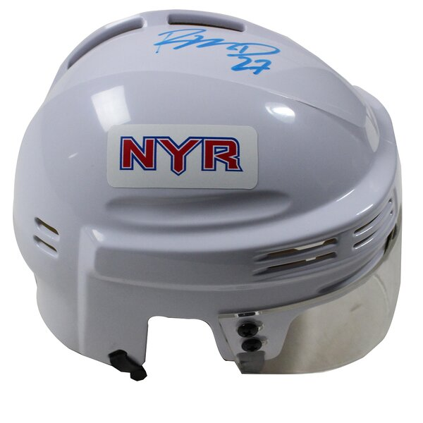 Decorative Ryan McDonagh Signed New York Rangers Replica Mini Helmet by Steiner Sports