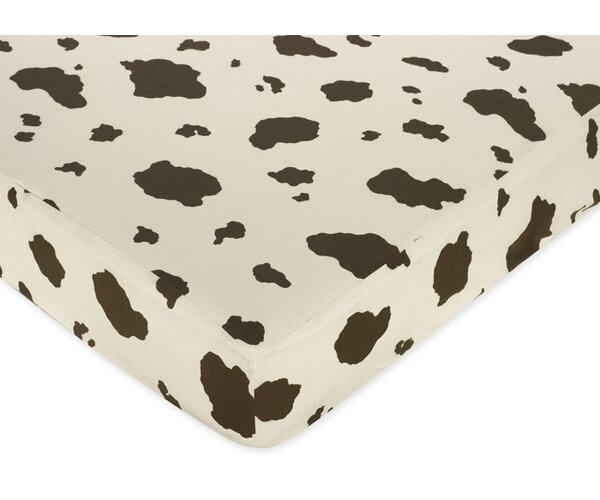Wild West Cowboy Print Fitted Crib Sheet by Sweet Jojo Designs