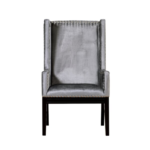 Stocksbridge Wingback Chair by Everly Quinn