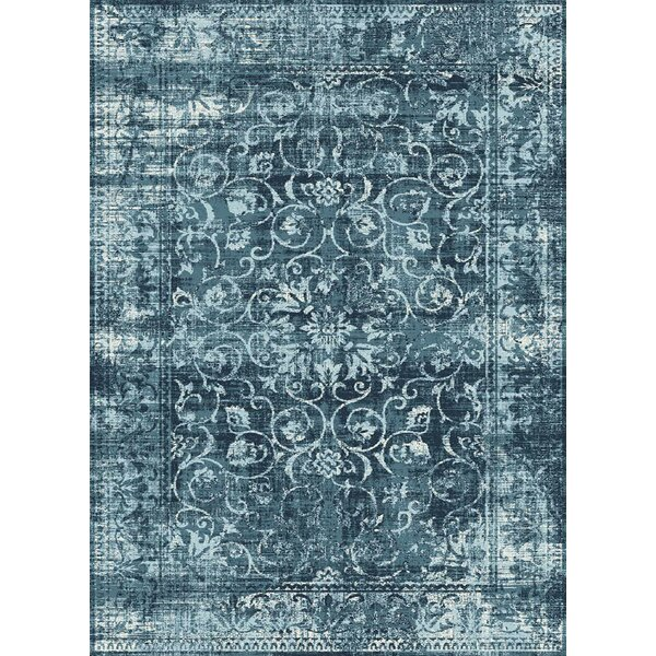 Josue Blue Area Rug by Bungalow Rose