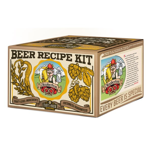 Oktoberfest Ale Beer Recipe Kit by Craft A Brew