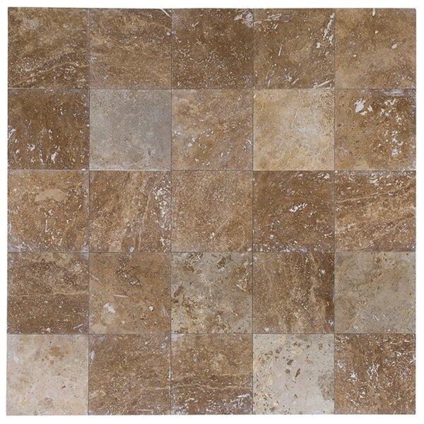 18 x 18 Travertine Wood Look Tile